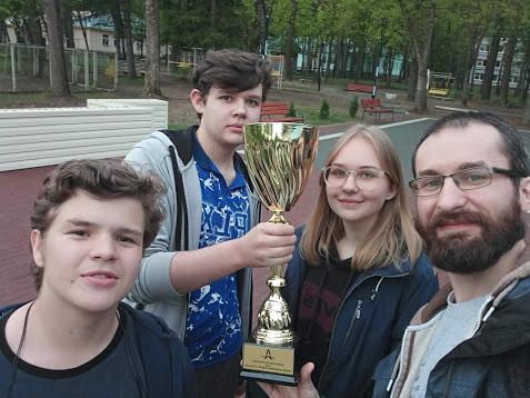 Победа на ракетостроительном чемпионате!